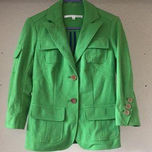 Diane Von Furstenberg Spring Green blazer